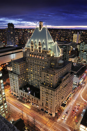 Fairmont Hotel Vancouver : The Castle in the heart of the city