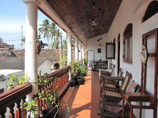 Beach Haven Guest House: balcony