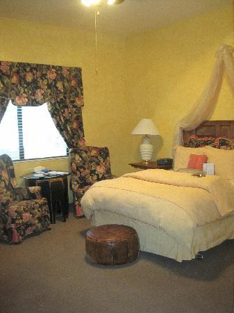 The Hanford House B&B Inn: Bedroom
