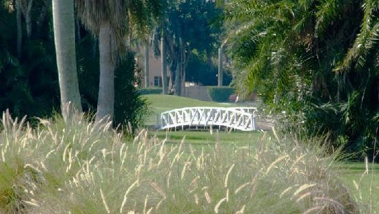 Hollywood Beach Golf Resort: Bridge between the 16th & 17th Fairways
