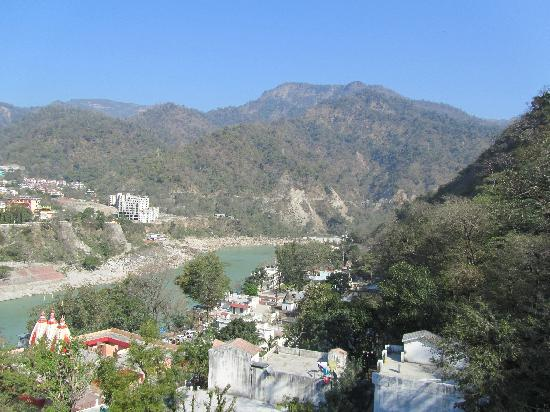 Hotel hill top rishikesh hotel reviews photos rates for Terrace jhula