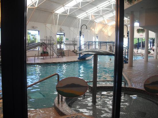 Silloth, UK: lovely pool to relax in