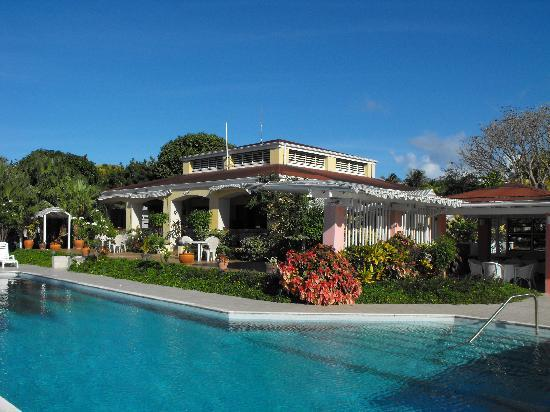 Mount Nevis Hotel and Beach Club: Main Building and Swimming Pool