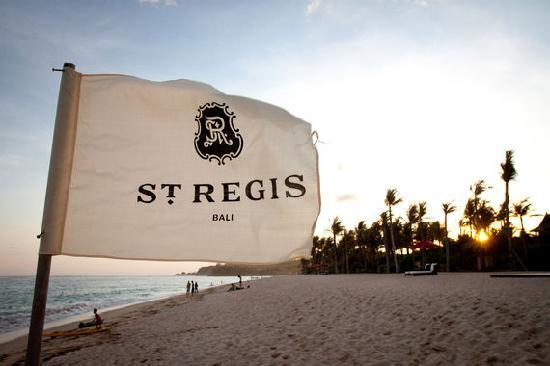 St Regis Picture Of The St Regis Bali Resort Nusa