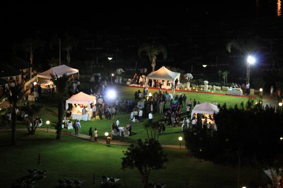 St Raphael Resort: Someone's wedding party