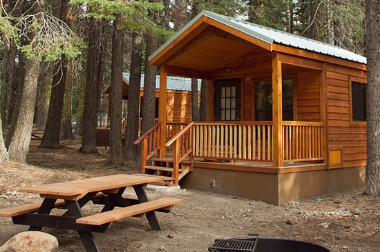 Manzanita Lake Camping Cabins