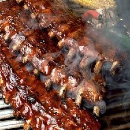 Smoked BBQ Baby Back Ribs - Picture of The Singing Pig BBQ Restaurant ...