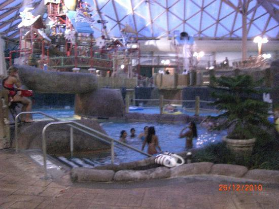 Massanutten Resort: indoor waterpark