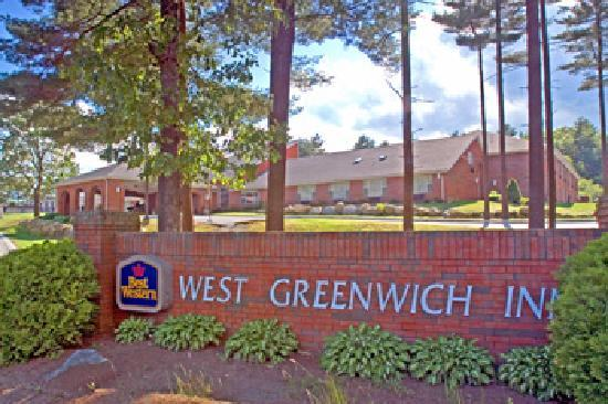 BEST WESTERN West Greenwich Inn: Front of Hotel