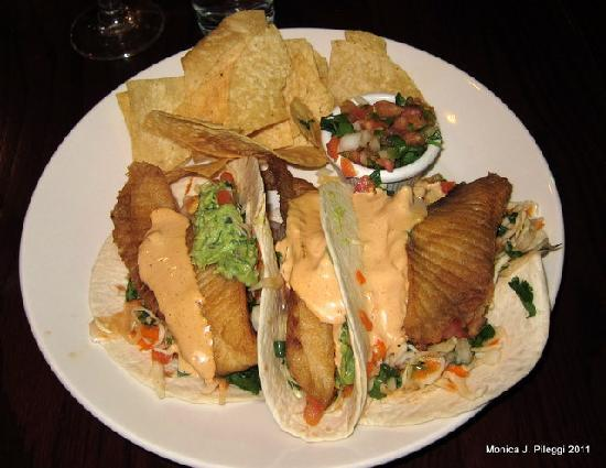 Cabin John, MD: fish tacos