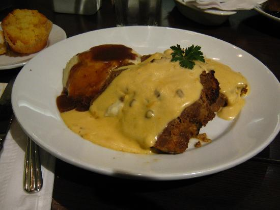 Cheesy Meatloaf - Picture of Paula Deen's Kitchen, Cherokee ...