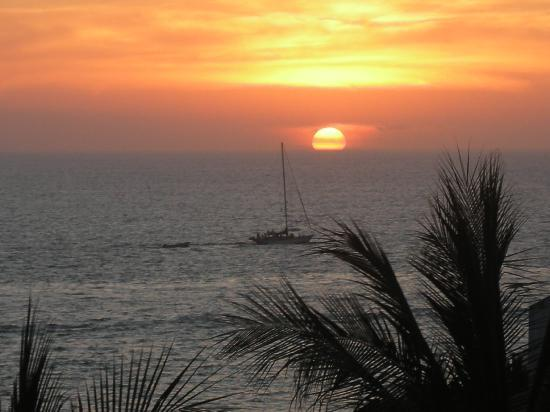 Mayan Palace Puerto Vallarta: Sunset
