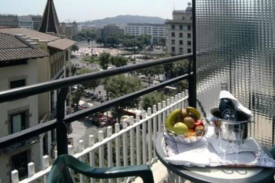 Husa Barcelona: room terrace
