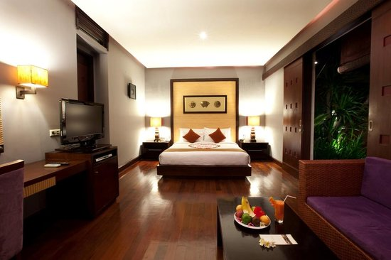 Pradha Villas: Double room 2 Bedroom / 1 bedroom split locked