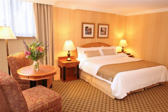 Days Inn Vancouver Downtown: Deluxe King Guestroom