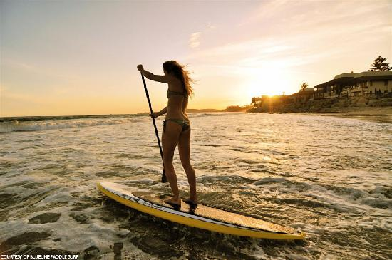 Santa Barbara's surfing roots run deep, and stand-up paddle boarding is one of many ways to enjo