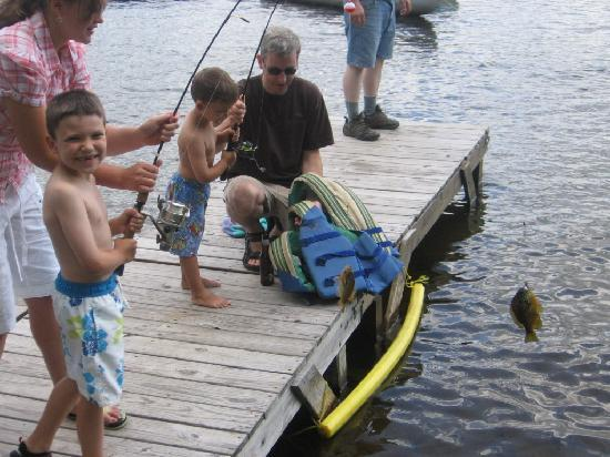 Enfield, NH: Fishing fun
