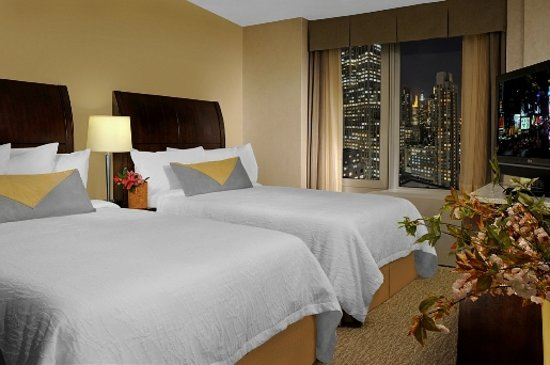 Hilton Garden Inn New York  West 35th: Double Cityview Room