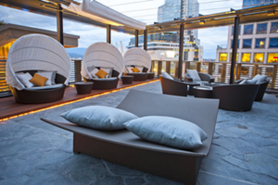 Fairmont Pacific Rim: Spa Terrace
