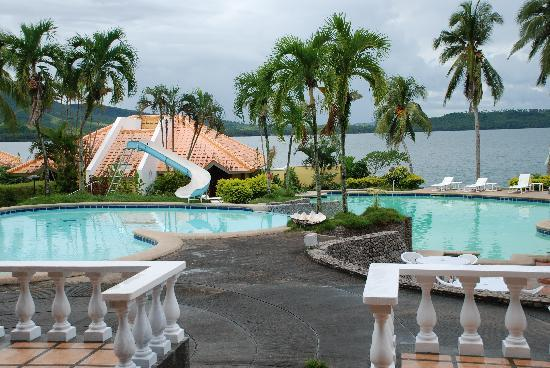 Leyte Park Resort Hotel: The only nice thing about Leyte Park is the view