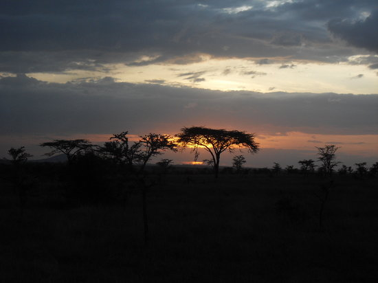 Nanyuki, Kenya: Sunset