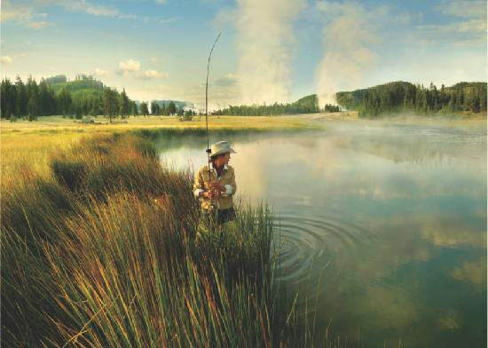Wyoming : Flyfishing