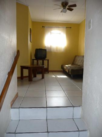 Taranova-Villas Palmas: Upstairs hallway with futon