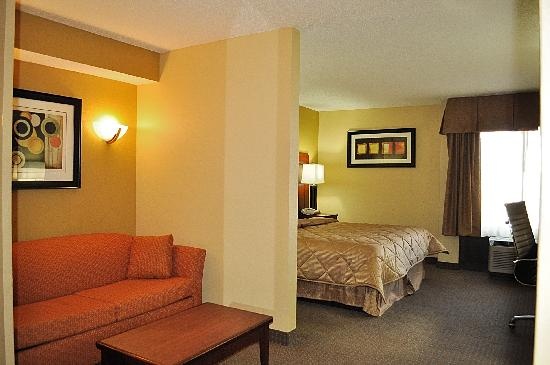 Comfort Inn: King Suite w/ Pull Out Sofa