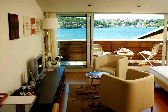 Ajia Hotel: Bosphorus Terrace Room