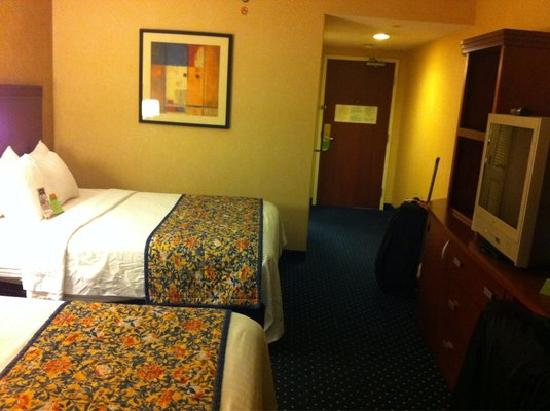 Courtyard by Marriott Boston Marlborough: roomy but no frills