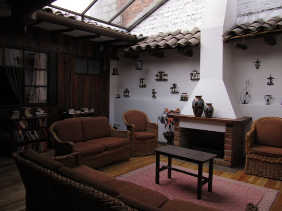 Casa Ordonez: Lounge area