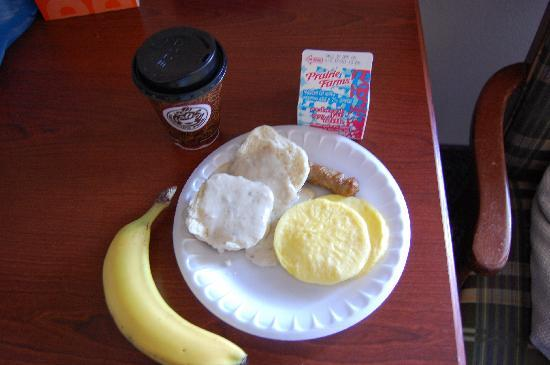 AmericInn Lodge & Suites Peoria: some items for breakfast