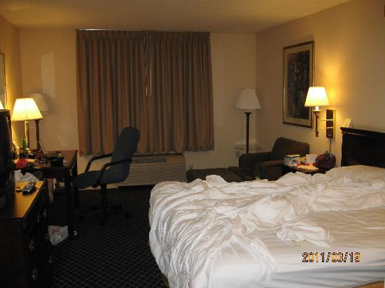 Quality Inn &amp; Suites -- South San Francisco: clean and comfortable room
