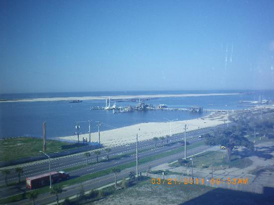 Grand Biloxi Casino Hotel &amp; Spa: Our veiw from 7th. floor