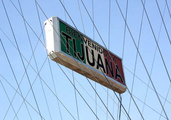 Tijuana, Mexique : Welcome to....