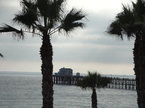 Southern California Beach Club: View of pier