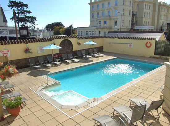 View From Our Room Picture Of Cavendish Hotel Torquay Tripadvisor