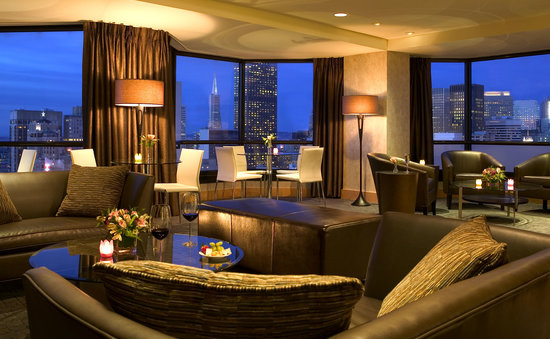 Parc 55 Wyndham: Concierge Lounge