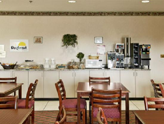 Jefferson City Days Inn: Breakfast Area