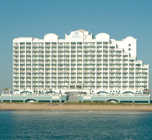 Hilton Suites Ocean City Oceanfront: All of our rooms overlook the grand Atlantic Ocean.