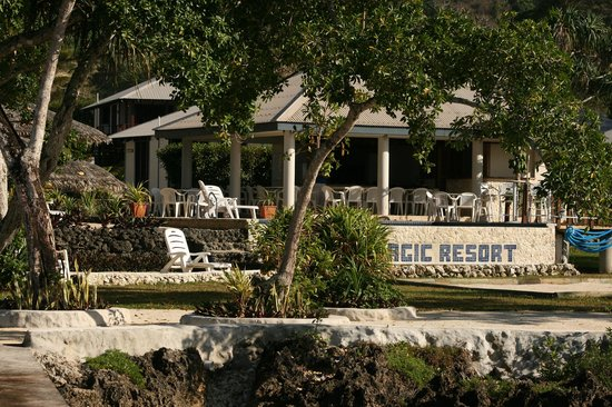 Island Magic Resort: Jetty to Pool Hut