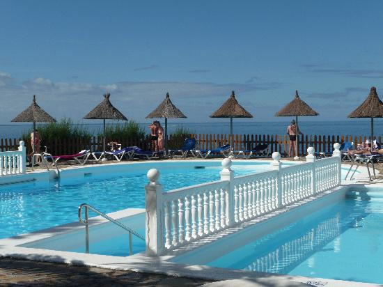 Sol La Palma Hotel: 'Heated' pool