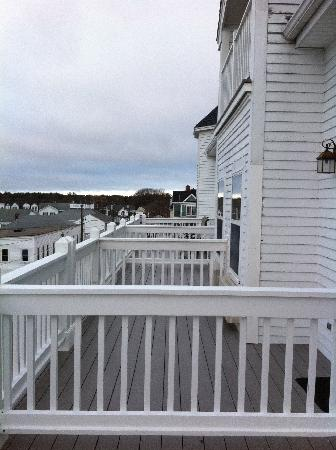 Union Bluff Hotel: Balcony Rooms--Choose one of these