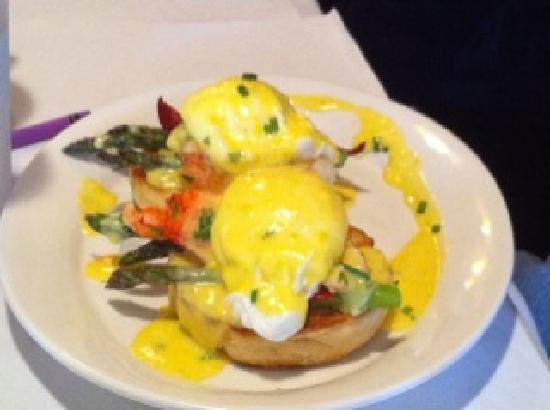 Lobster eggs benedict - Picture of Cafe Luna, Cambridge - TripAdvisor