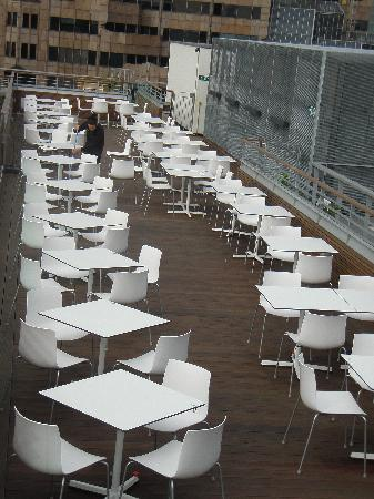 Sky Lounge Terrace Picture Of Doubletree By Hilton Hotel