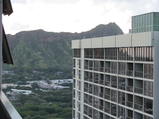 Aston at the Waikiki Banyan: View of Diamond Head