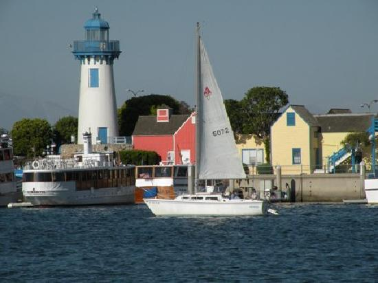Fisherman's Village is the center of recreational boating and watersports in Marina del Rey