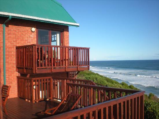 Dolphin Dunes Guesthouse: View from balcony