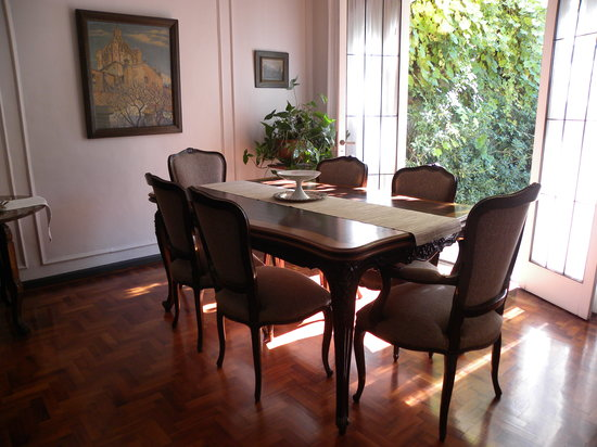 B&B Plaza Italia: Dining Room