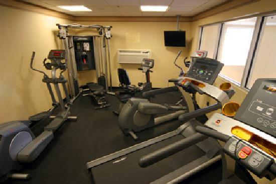 Comfort Inn &amp; Suites: Fitness Center featuring all &quot;Life Fitness&quot; Equipment